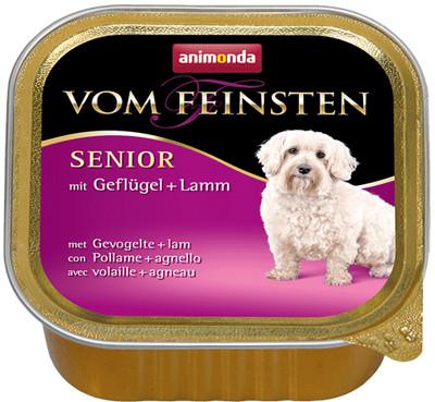 Animonda Dog Vom Feinsten Senior smak drób z jagnięciną