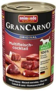 Animonda GranCarno Adult Dog smak Koktajl mięsny