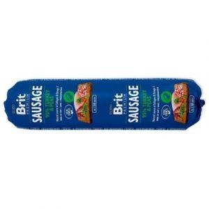 Brit Care Sausage Turkey/Pea kiełbasa z indykiem i groszkiem