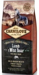 Carnilove Lamb&Wild Boar for Adult