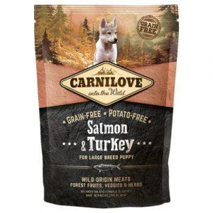 Carnilove Large Puppy Salmon and Turkey łosoś i indyk