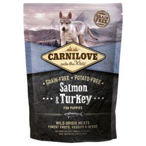 Carnilove Puppy Salmon and Turkey łosoś i indyk