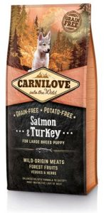 Carnilove Salmon&Turkey for Large Breed Puppy