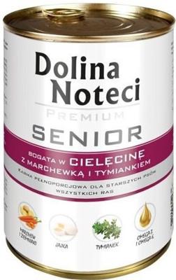 Dolina Noteci Premium Senior bogata w cielecinę marchew i tymianek