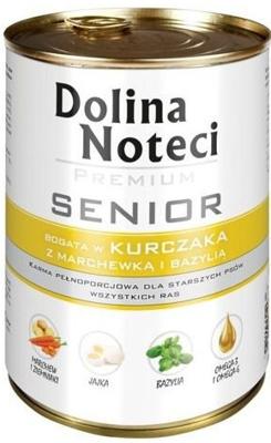 Dolina Noteci Premium Senior Kurczak z marchewką i bazylią