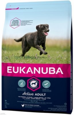 Eukanuba Adult Active for Large Breed