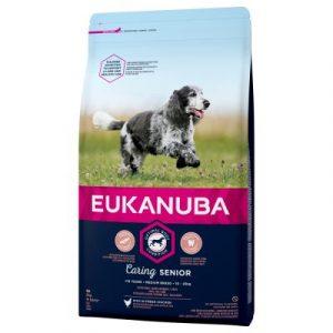 Eukanuba Caring Senior Medium Breed kurczak