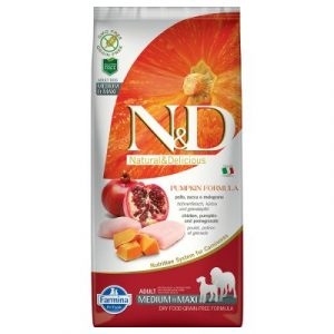 Farmina N&d Grain Free Medium/Maxi Adult kurczak dynia i owoc granatu