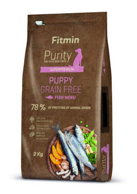 Fitmin purity gf puppy fish