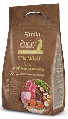 Fitmin purity rice semimoist rabbit&lamb