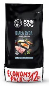 John Dog Karma Sucha. BiaŁa Ryba Z Łososiem I Warzywami