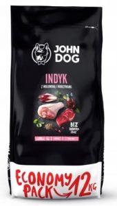 John Dog indyk z wołowiną i warzywami