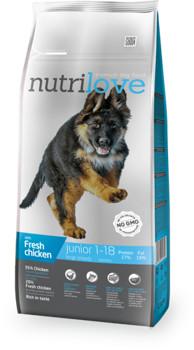 Nutrilove Junior L  kurczak