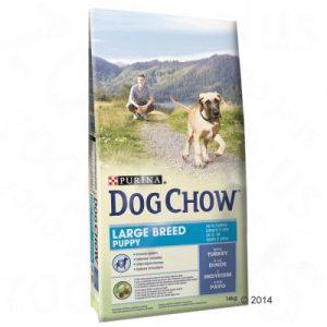Purina Dog Chow Puppy Large Breed Turkey indyk