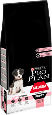 Purina Pro Plan Medium Puppy Sensitive Optiderma łosoś i ryż