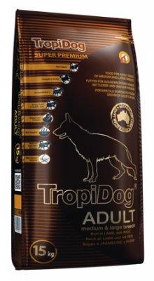 Tropidog Super Premium Adult Medium&large Breed Lamb With Rice
