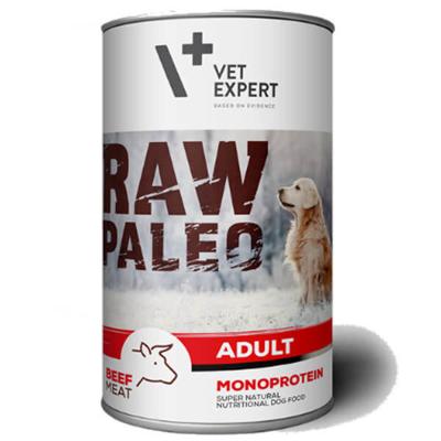 Vetexpert Raw Paleo adult beef wołowina puszka