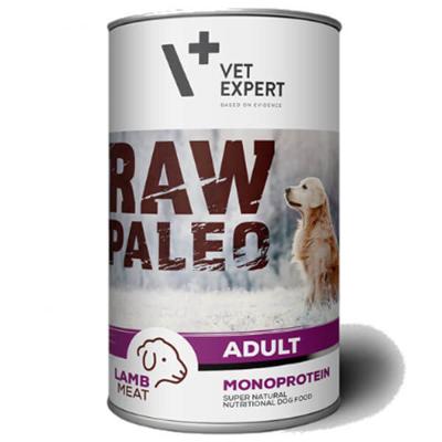 Vetexpert Raw Paleo adult lamb jagnięcina puszka