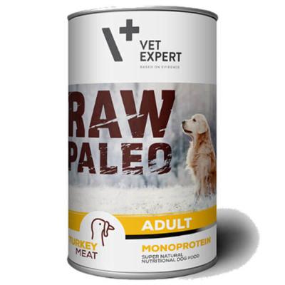 Vetexpert Raw Paleo adult turkey indyk puszka