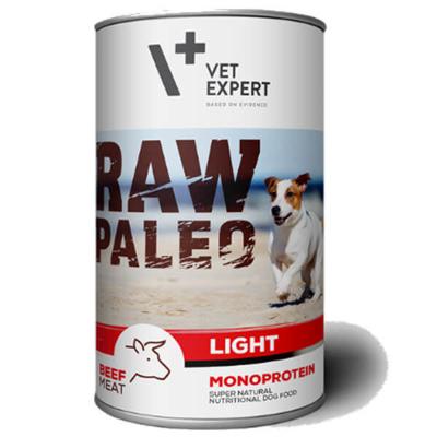 Vetexpert Raw Paleo Light adult beef wołowina puszka