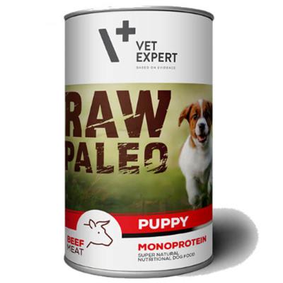 Vetexpert Raw Paleo puppy beef wołowina puszka