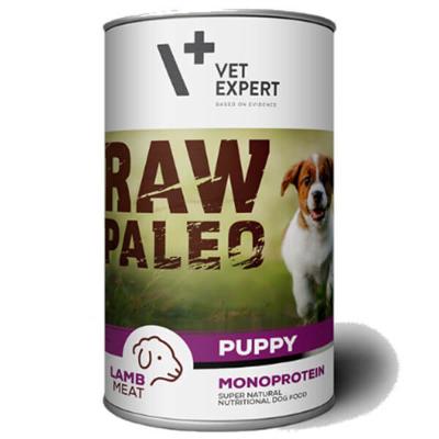 Vetexpert Raw Paleo puppy lamb jagnięcina puszka