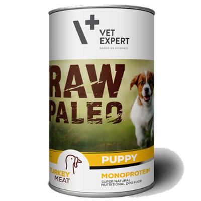 Vetexpert Raw Paleo puppy turkey indyk puszka