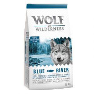 "Wolf of Wilderness Adult ""Blue River"" łosoś"