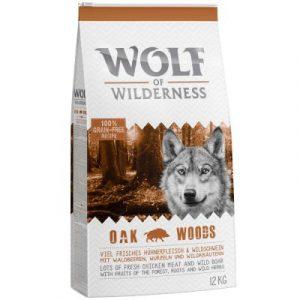 """Wolf of Wilderness Adult """"Oak Woods"""" dziczyzna"""