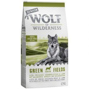 Wolf of Wilderness Senior Green Fields jagnięcina
