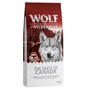 """Wolf of Wilderness """"The Taste Of Canada"""""""