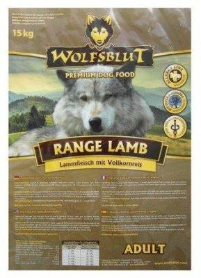 Wolfsblut Dog Range Lamb Adult jagnięcina i ryż