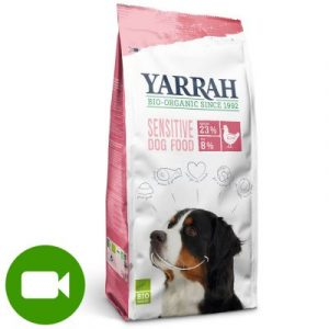 Yarrah Bio Sensitive z biokurczakiem i bioryżem
