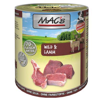 MAC's Adult Jagnięcina i kaczka